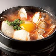 サイドメニューは韓国料理が豊富に揃っております♪