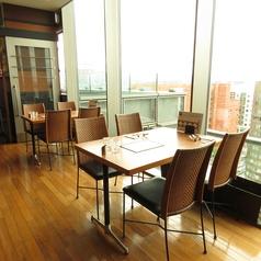 10階からの景色は爽快です。昼と夜で印象が変わる景色をお楽しみください
