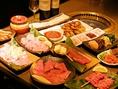 ボリューム満点のおまかせコースは3500円と4500円!2名~当日のご予約もOK!お酒も揃っています。