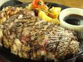 料理メニュー写真サーロインステーキ600g