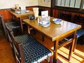 テーブル席:4名×5