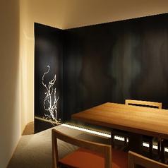 ムードのあるテーブル個室