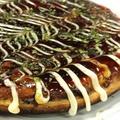 料理メニュー写真究極のお好み焼き/ポテっとチーズ焼き/明太ポテトバター