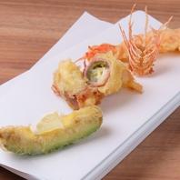 絶品!天ぷら料理…変わりダネなど豊富なメニュー