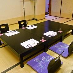 ~6名用の座敷個室。10名用×1、14名用×1もございます。