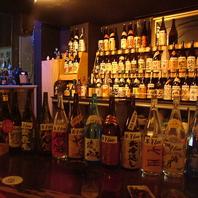【圧巻】焼酎大好きな店主が20年かけ集めた自慢の品揃え