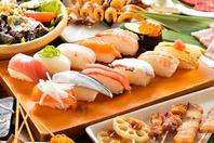 とにかくお寿司食べ放題が大好評!!
