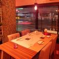 『広々テーブル席』