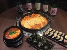 韓国料理 中央シジャン 新大久保店のコース写真