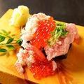 料理メニュー写真男気驚きこぼれ寿司