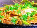料理メニュー写真豚肉とキムチの炒め物
