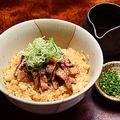料理メニュー写真岩中豚飯(ひつまぶし風)