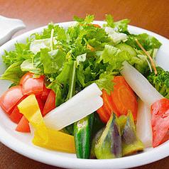 料理メニュー写真野菜不足解消サラダ