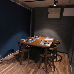 半個室風テーブル×6