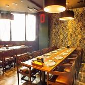 最大17名様まで、個室席はご利用いただけます。雰囲気満点、ゆとりのある広々空間。お誕生日や記念日のお祝いにもぴったり♪名物シュラスコをはじめ、ブラジルの本格的な味を池袋駅近でお召し上がりいただけます。食べ飲み放題で皆様大満足!カクテルは100種以上お取り扱いございます。