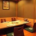 2名様からOKの個室は人気!予約はお早めに★大きな看板が目印!難波,心斎橋で人気の焼肉寿司しゃぶしゃぶ食べ放題!