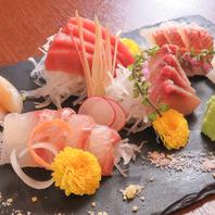新鮮地魚のお刺身で旨い酒を愉しむ♪