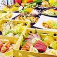 宴会コースはすべて288種類超え飲み放題付で税込み価格の明朗会計です♪3時間宴会もございます。