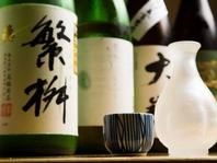 全国各地から厳選した焼酎・日本酒