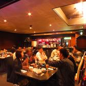 大型宴会用に◎奥にはパーティスペースもあります。最大で100名ほどの宴会対応できます★