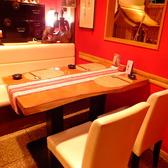 2名様~4名様用のテーブル個室。