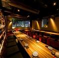 東京タワービュー掘りごたつ大宴会個室。(最大46名様)