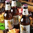 タイで生まれたアジアを代表するビール『シンハー』!!さっぱりとのど越しよく、飲みやすい♪今なら{前日予約}で、シンハーも飲み放題にできちゃいます!!