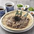 料理メニュー写真鯛出汁のめんつゆで食べる〆の日本そば