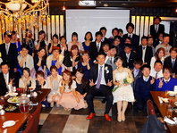 Wedding Partyにて・・・
