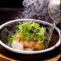 料理メニュー写真石焼鯛茶漬