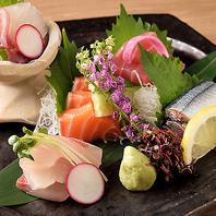 地鶏以外にも焼津港直送の鮮魚も当店では愉しめます!