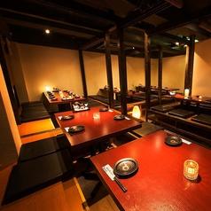 【団体様個室完備】宴会・同窓会・二次会などでゆったり飲める大型個室も完備しております。