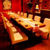 8名様~12名様用のテーブル個室。