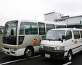 送迎バスございます!5名様~OK!ご予約の際にお伝えください。