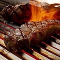 料理メニュー写真サーロインステーキのグリル(200g)