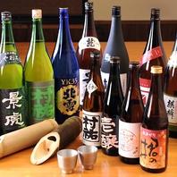 新潟地酒と県外酒、どちらも楽しめます。