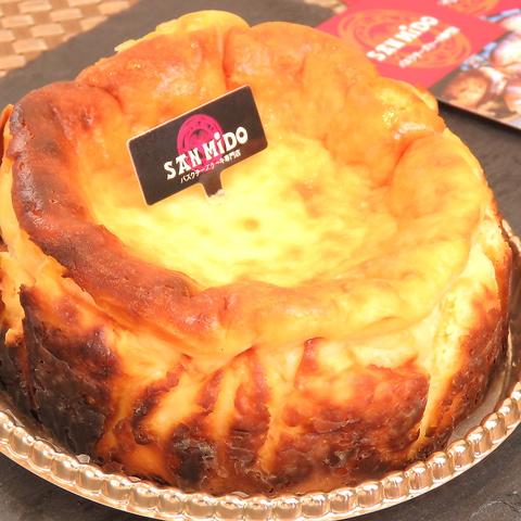 【テイクアウト】 バスクチーズケーキレギュラー(12cm)