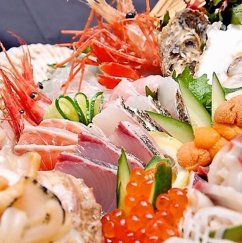 テレビ東京のワールドビジネスサテライトで紹介された【水産会社直営の鮮魚】が自慢!