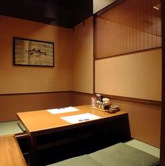 和空間の落ち着ける個室は、少人数様でもお気軽にご利用頂けます。