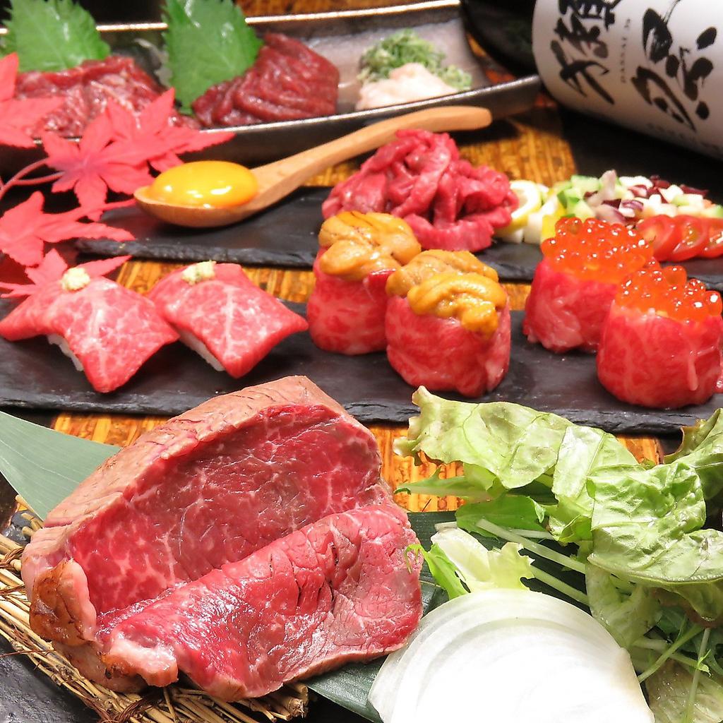 梅田最安値 食べ飲み放題 肉寿司 HINATA  梅田東通り店|店舗イメージ2