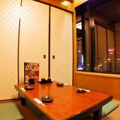 川崎駅前の夜景が楽しめます。
