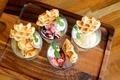 料理メニュー写真ベルギーワッフル&アイス