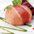 料理メニュー写真カマンベールチーズの生ハムリゾットBOMB!