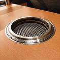 換気もばっちり! 3分に1回、店内すべての空気が入れ替わる換気システムで安心してお食事をお楽しみいただけます。