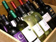 ワインも豊富
