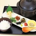 料理メニュー写真【じっくり取った、地魚の出汁で味わう】魚魯飯(2~3人前)