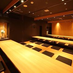 広々とした宴会スペース。12名~40名収容可能。