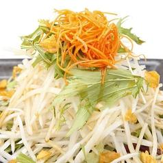 大根と水菜のハリハリサラダ