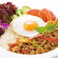 料理メニュー写真ガパオライス ~鶏肉のバジル炒めご飯