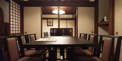 蔵の2階をリニューアルしました。ゆったり落ち着いた雰囲気の中、宴会・ご家族での特別な食事会等にお勧め。完全個室も可能ですので、会社の接待等でも周りを気にせずお仕事のお話も進みます。(ご希望の際はお気軽にスタッフまで)